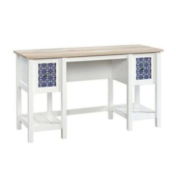 Sauder Cottage Road Wood Desk in Soft White