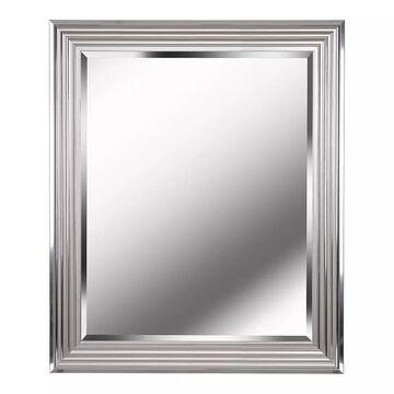 Kenroy Home Lyonesse Chrome Wall Mirror, Grey, 30X24