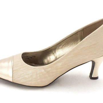 Bellini Womens Zesty Fabric Closed Toe Classic Pumps