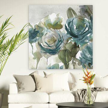Wexford Home 'Secret Garden Negative I' Premium Gallery Wrapped Canvas