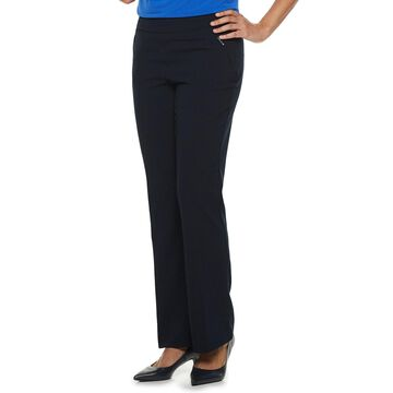 Women's Briggs Straight-Leg Pull-On Dress Pants