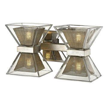 Troy Lighting Expression 4-Light Gray Modern/Contemporary Vanity Light | B5812