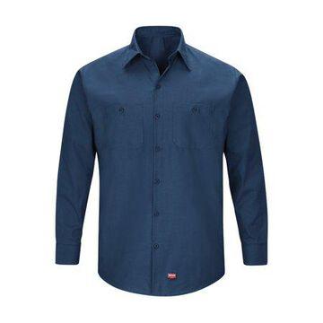 Red Kap Men's Long Sleeve Work Shirt with MIMIX