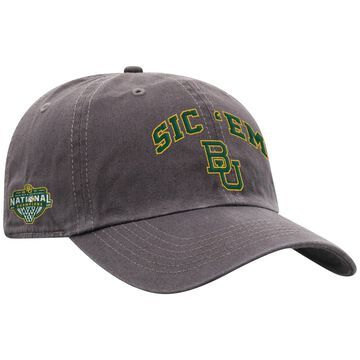 Men's Top of the World Gray Baylor Bears 2021 NCAA Men's Basketball National Champions Local Crew Adjustable Hat