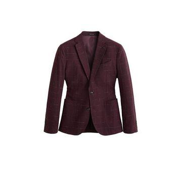 MANGO MAN Slim-fit virgin wool blazer