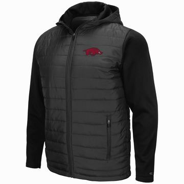 Mens NCAA Arkansas Razorbacks Everest Full Zip Jacket
