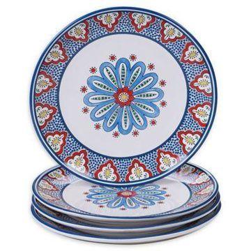Certified International Tangier Dinner Plates (Set of 4)
