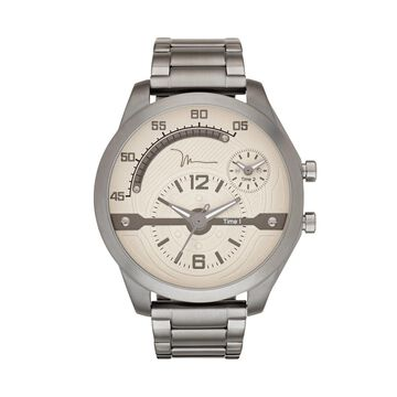 Marc Anthony Men's Gunmetal Stainless Steel Watch