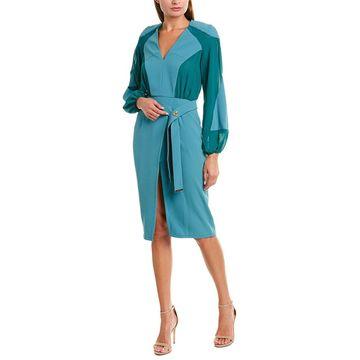 Elisabetta Franchi Womens Sheath Dress