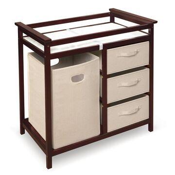 Badger Basket Modern Changing Table & Hamper