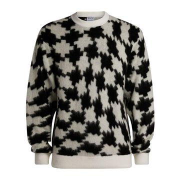 Marcelo Burlon County Of Milan Knitted Cross Sweater
