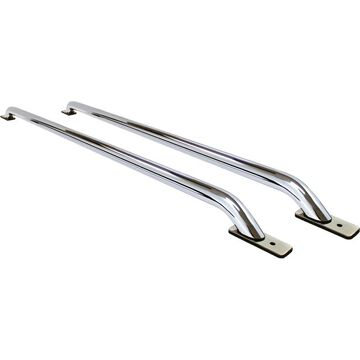 G268076C Go Rhino Bed Rails, steel go rhino stake pocket chrome