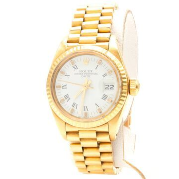 Rolex Lady Oyster Perpetual 26mm Gold Yellow gold Watches