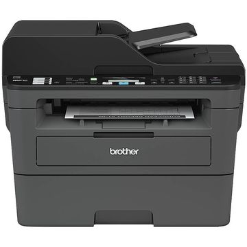 Brother Compact Wireless Monochrome Laser All-In-One Printer, Scanner, Copier, Fax, MFC-L2710DW