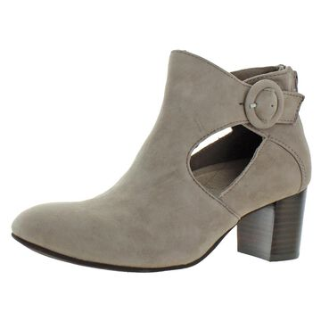 Earth Womens Corinth Suede Cushioned Booties