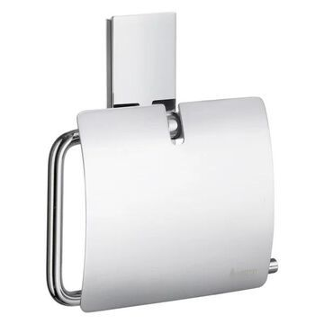 Pool Toilet Roll Holder With Cover Chrome