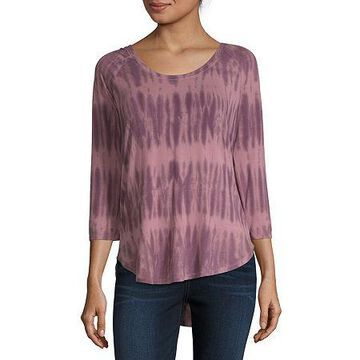 a.n.a 3/4 Sleeve Scoop Neck T-Shirt - Tall