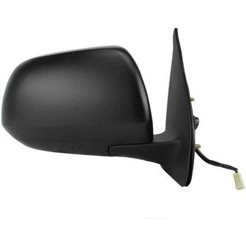 70147T - Fit System Passenger Side Mirror for 12-15 Toyota Tacoma, textured black, w/o turn signal, foldaway, Power