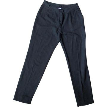 American Vintage Grey Cotton Trousers