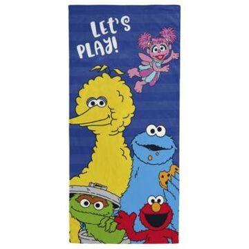 "Sesame Street Lets Play Beach Towel, 28"" x 58"" Bedding"