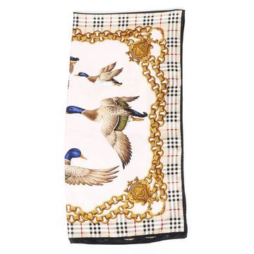 Burberry Gold Silk Scarves
