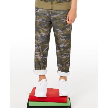 Toddler Boys Camouflage Tricot Pants, Created for Macy's