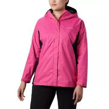 Columbia Women s Tested Tough in Rain Jacket II - Plus Size-