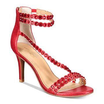 Thalia Sodi Womens Darrla Open Toe Casual Ankle Strap