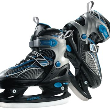 DBX Boys' Adjustable Ice Skates