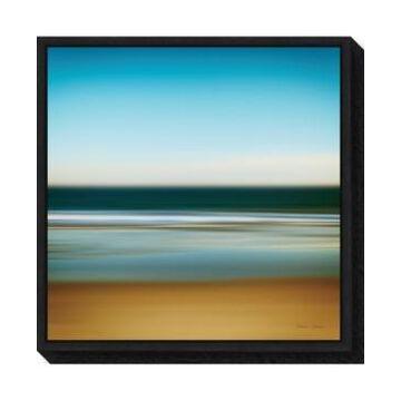 Amanti Art Sea Stripes I by Katherine Gendreau Canvas Framed Art