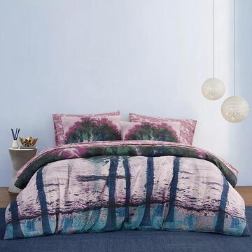 Material Girl Beach Vibes Complete Bed Set, Pink, Full