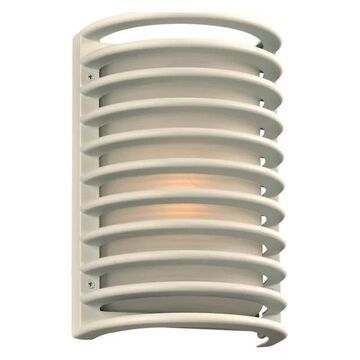 PLC Lighting 1-Light Outdoor Fixture Sunset Collection 2038WHLED