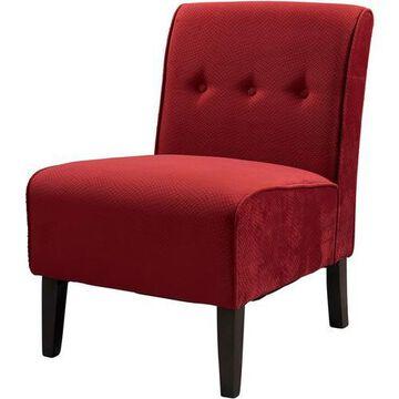 Linon Bristol Red Accent Chair