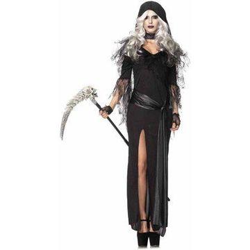 Leg Avenue Women's Sexy Soul Stealer Grim Reaper Death Costume, Medium/Large, Black