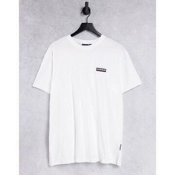Napapijri Patch t-shirt in white