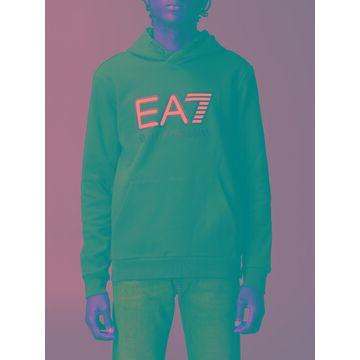 Ea7 Sweatshirt Ea7 Sweatshirt With Hood And Logo
