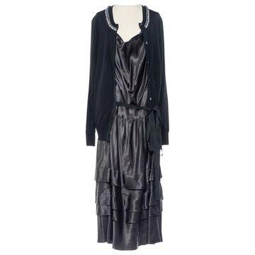 Sacai \N Black Wool Dresses