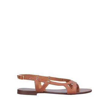 ANDREA MORANDO Toe strap sandal