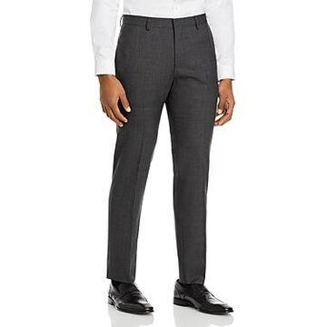 Boss Genius Micro Check Slim Fit Suit Pants