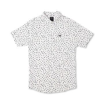 Men's Shake Along Slim Fit Spot Print Shirt