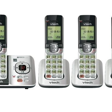 VTech CS6529-4 DECT 6.0 Phone Answering System with Caller ID/Call Waiting 4 ...
