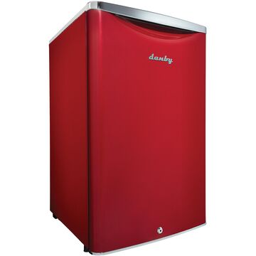 Danby Contemporary Classic 4.4 Cu. Ft. Red Compact Refrigerator