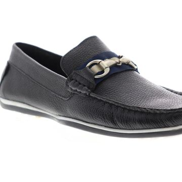 Giorgio Brutini Tiller Moccasin Mens Black Casual Loafers Shoes