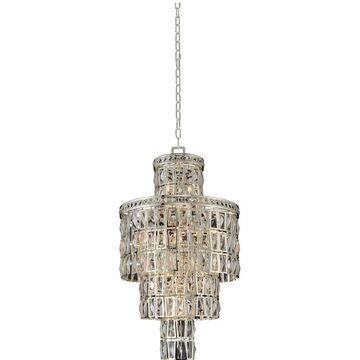 Allegri 033250014FR001 13 Light Pendant Kasturi Silver - One Size (One Size - Clear)