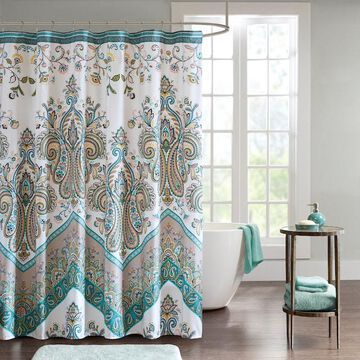 Intelligent Design Layne Printed Shower Curtain