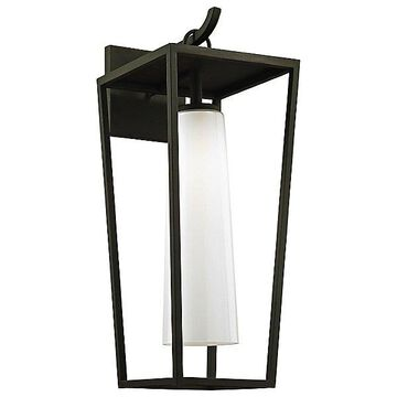 Mission Beach Outdoor Wall Light by Troy Lighting - Color: Black - Finish: Black - (B6353)