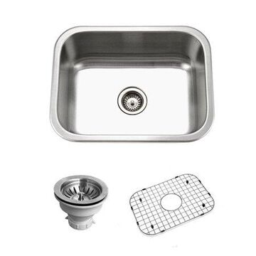 Houzer BSS-2309 Belleo Series Top-Mount Single-Bowl Kitchen Sink