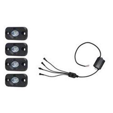 Hella H57-357212011 Value Fit RGB Rocker Light, Black
