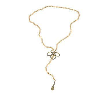 Heidi Daus Never Ending Elegance Beaded Lariat Necklace