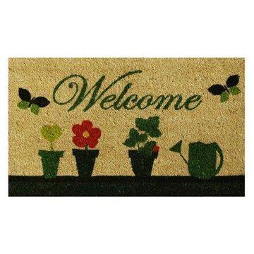Home & More Flowers Doormat